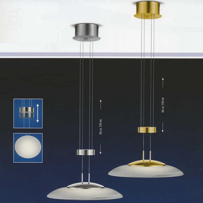 B Leuchten Hohenverstellbare Led Pendelleuchte O 42cm Wohnlicht