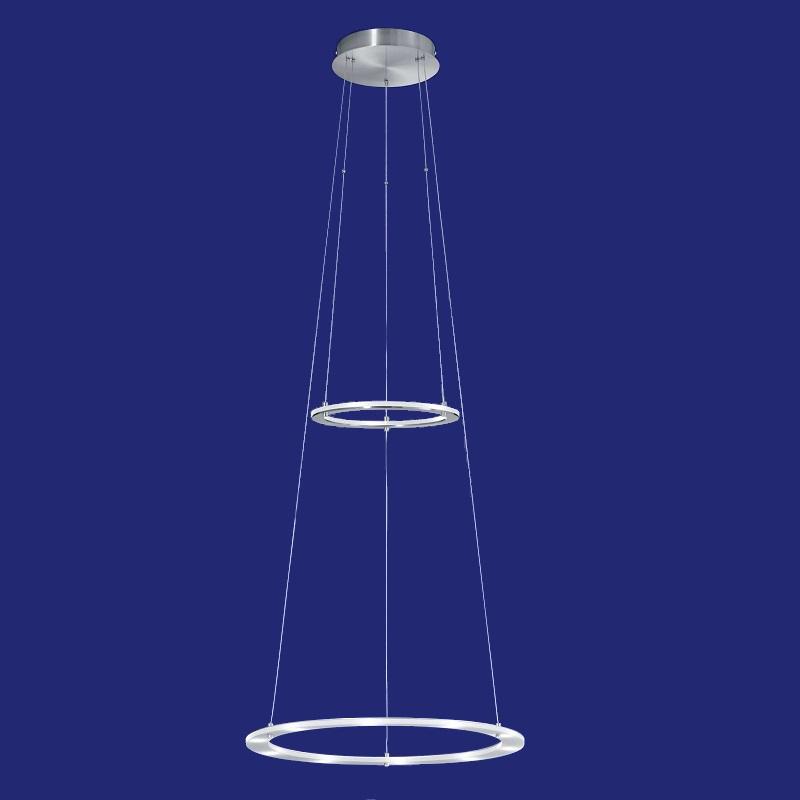 B-Leuchten höhenverstellbare LED-Pendelleuchte Ø50cm | WOHNLICHT