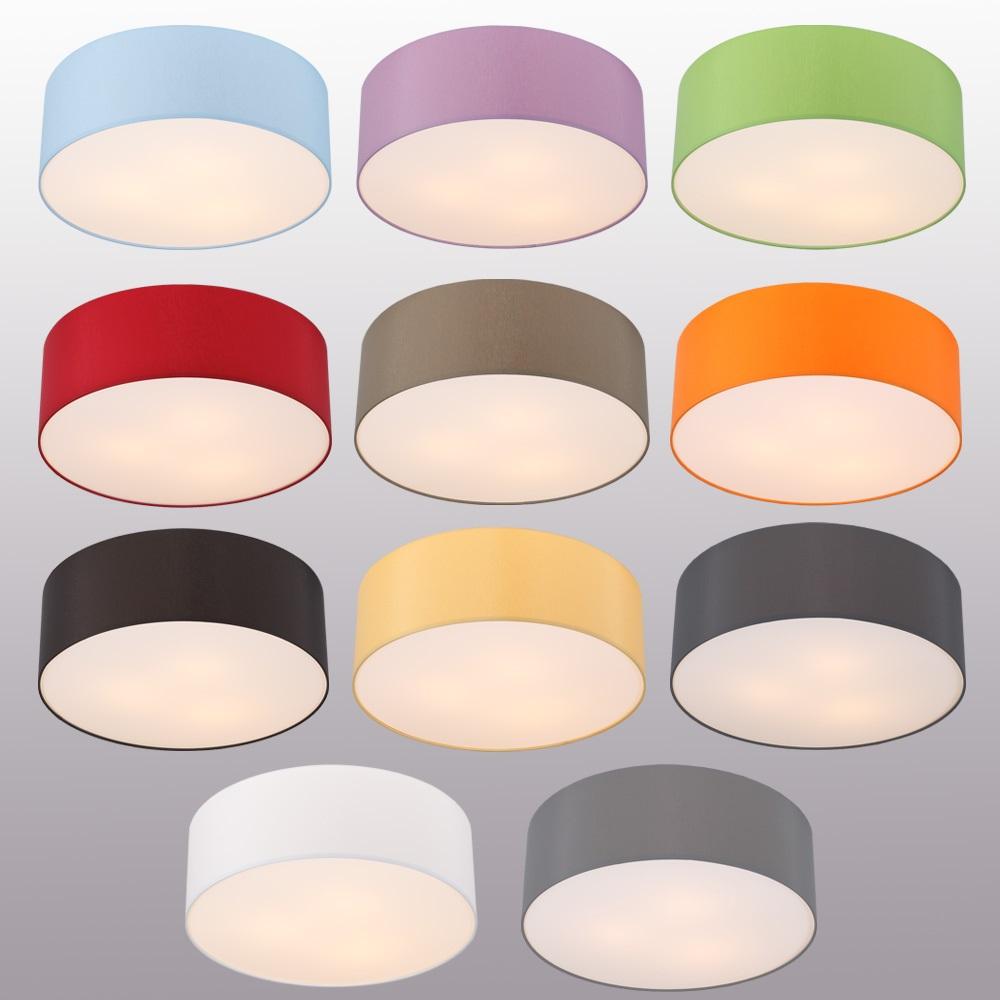 Chintz-Stoff Deckenleuchte mit Lampenschirm | WOHNLICHT