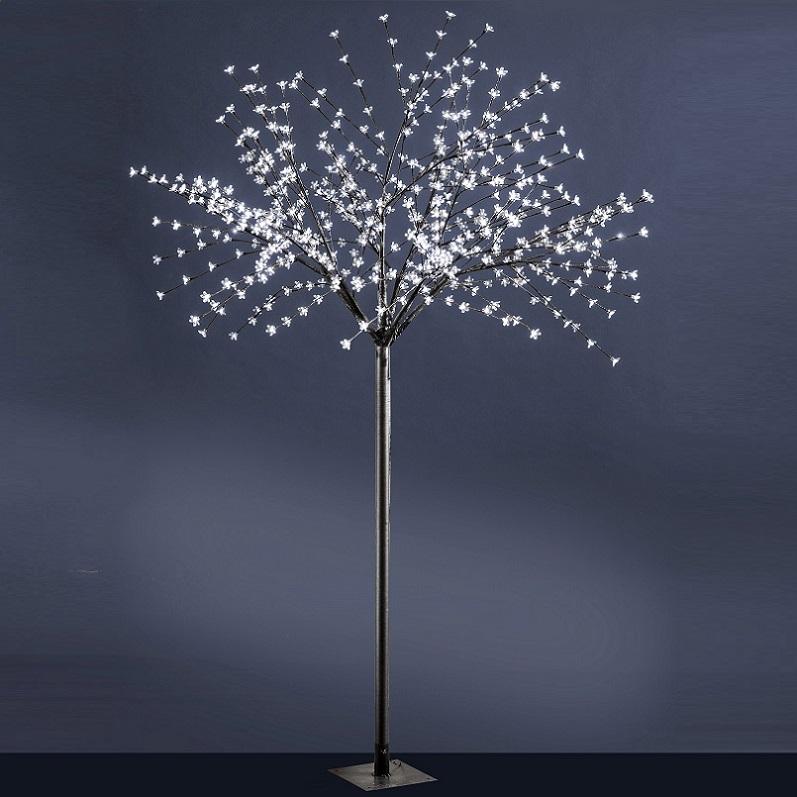 Dekorativer 240cm hoher LED-Baum für INNEN und AUßEN geeignet ...
