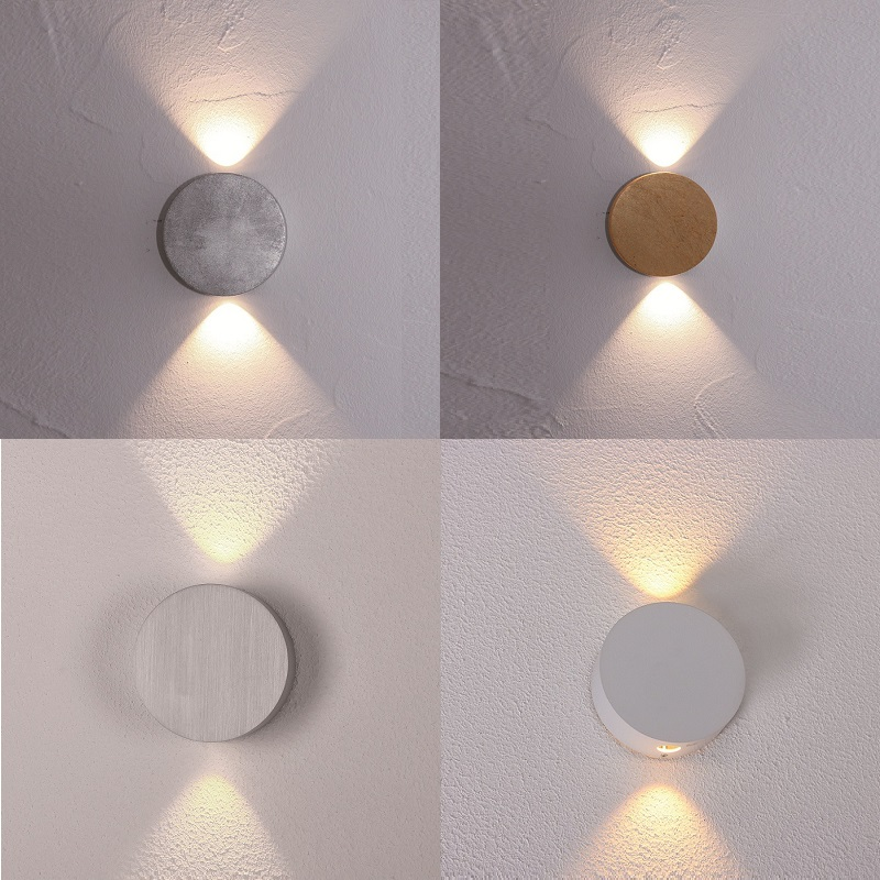 Escale Design Led Wandleuchte Sun In Vier Varianten Wohnlicht