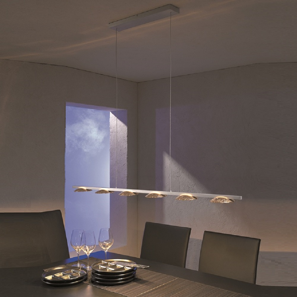Escale LED Pendelleuchte Medusa mit Blattgold | WOHNLICHT