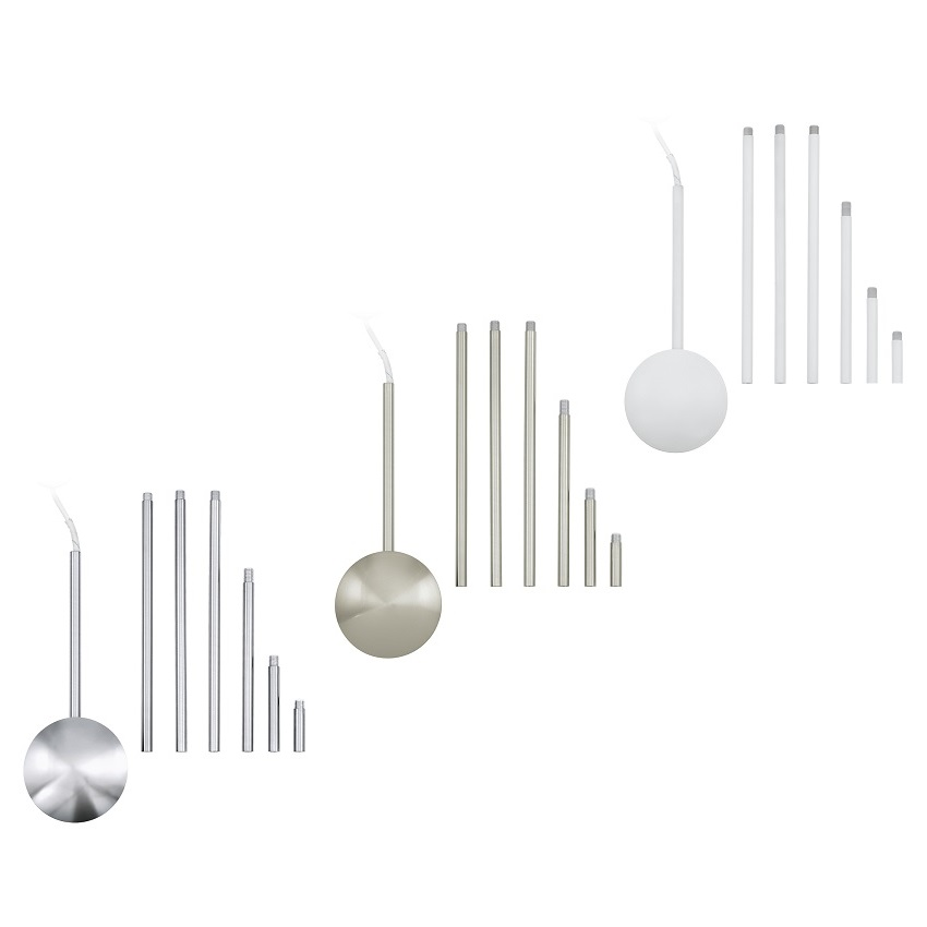 Funktioneller Kabelkanal Fur Deckenleuchten Aus Stahl Wohnlicht