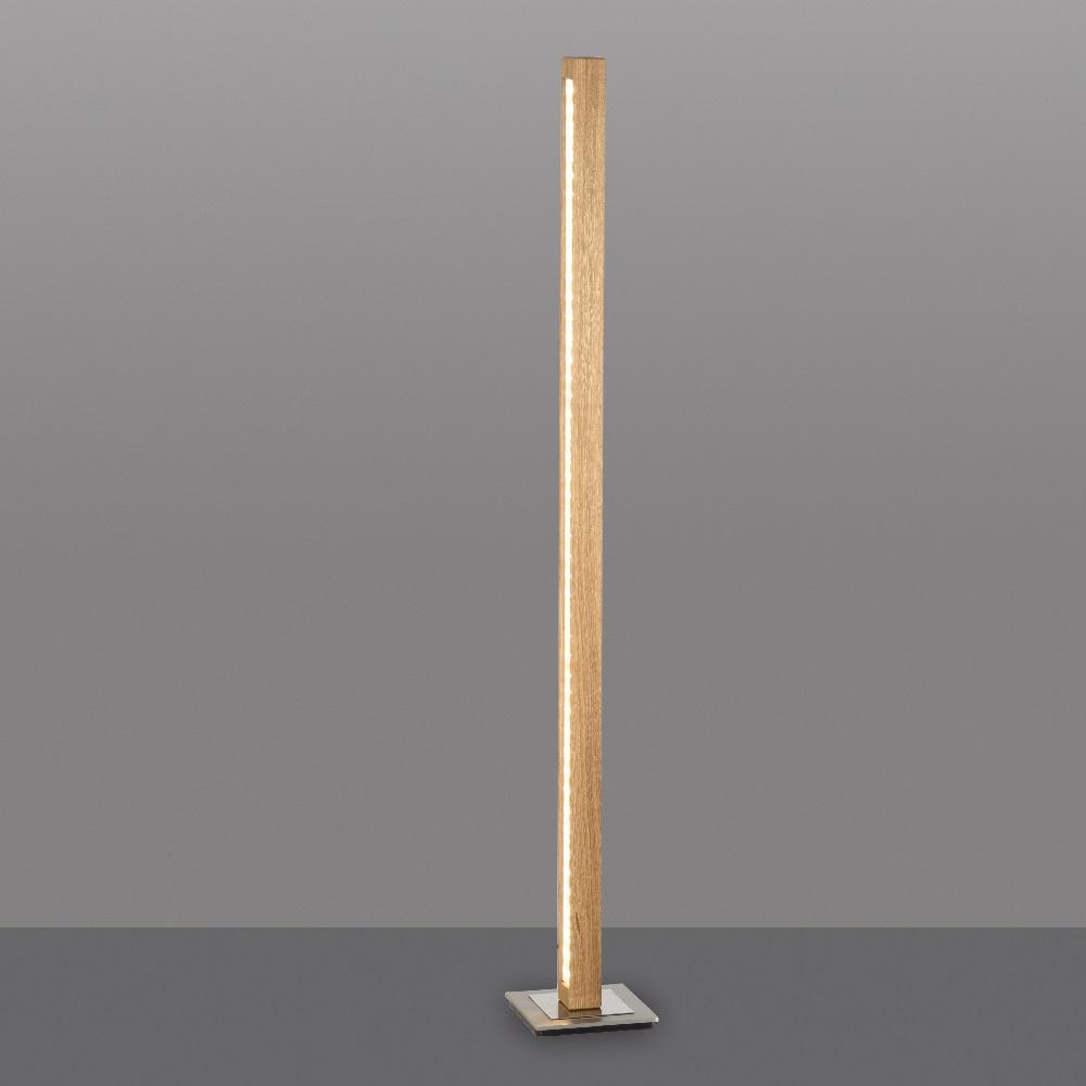Stehleuchten & Stehlampen mit Holz   WOHNLICHT