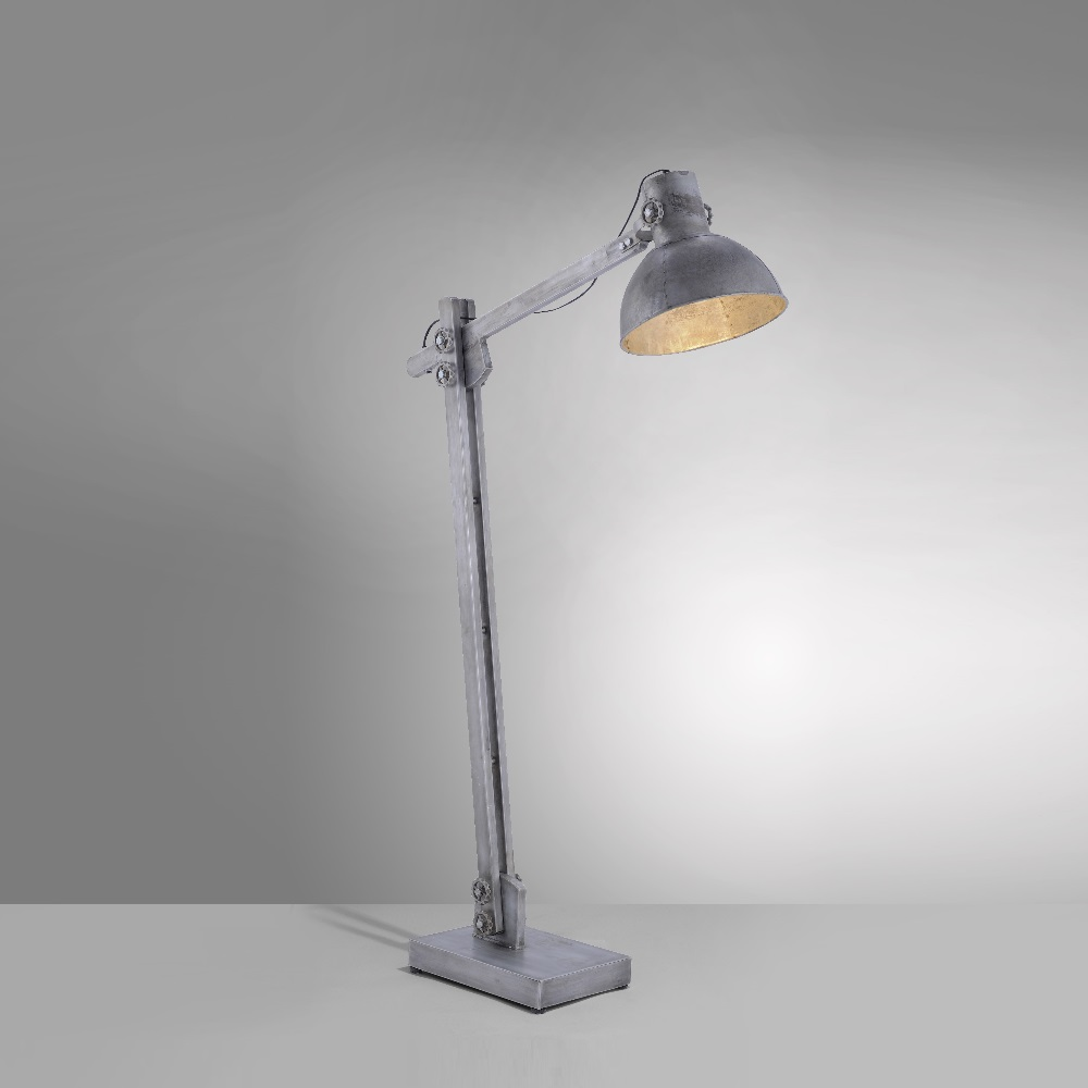 Industrie Style Stehleuchte Samia Hohe 128cm Wohnlicht