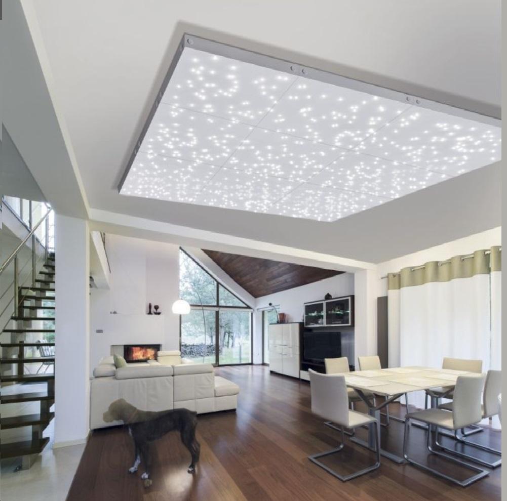 LED Panel, Deckenleuchte, Sternenhimmel, Fernbedienung