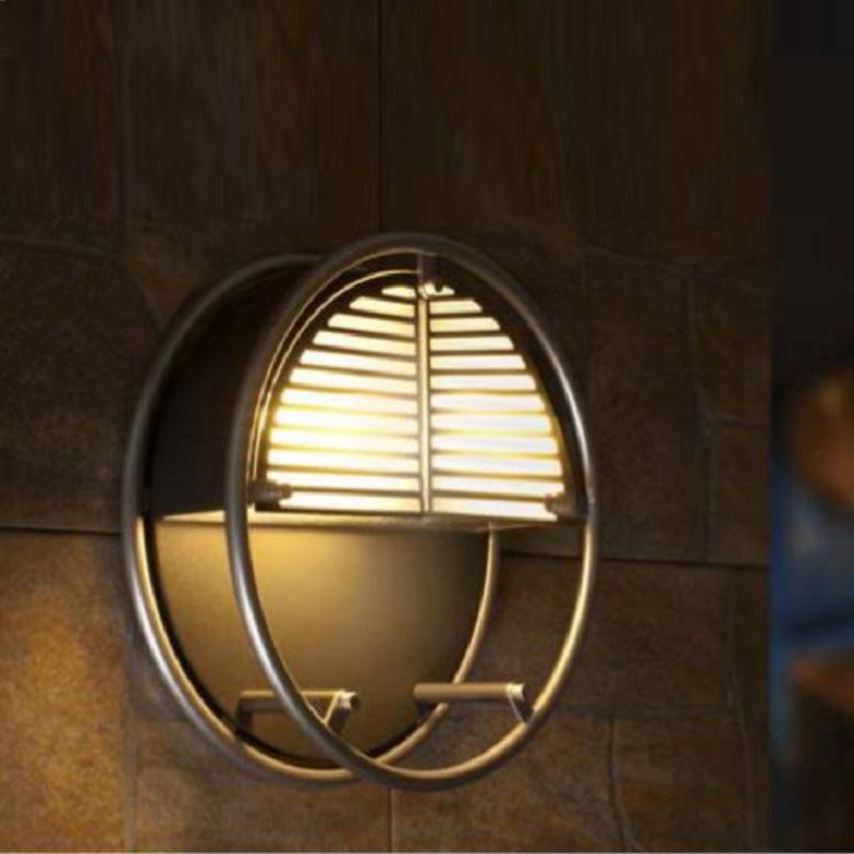 led außenleuchte aus aluminiumguss in silber 15x0 4watt wohnlicht