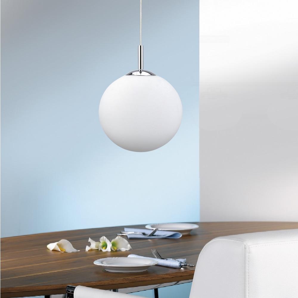 LED- Pendelleuchte Bolo Ø 40 cm mit RGB-Farbwechsel | WOHNLICHT