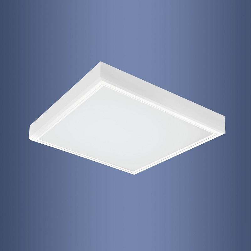Quadratische Deckenleuchte - Weiß - 62 x 62 cm - für ...