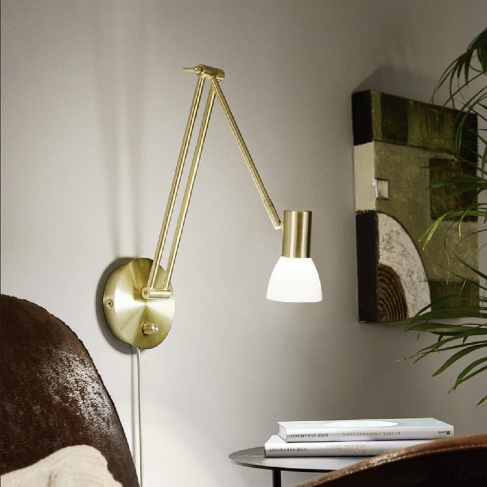 Schwenkbare LED Wandleuchte | WOHNLICHT