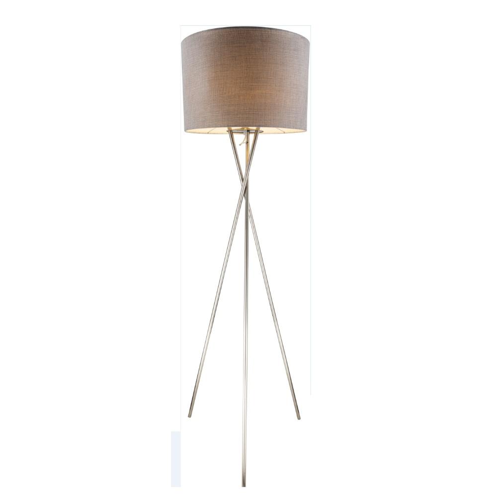 Stehlampe Dreibein Metall