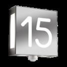beleuchtete Hausnummern mit Bewegungsmelder