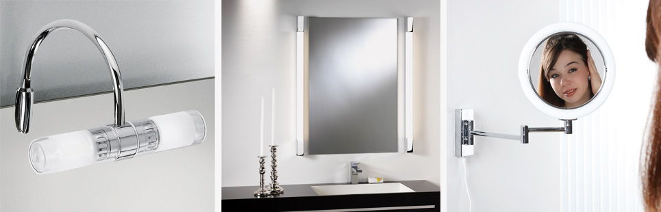 Badezimmer Spiegelleuchte und Spiegellampen online kaufen | WOHNLICHT