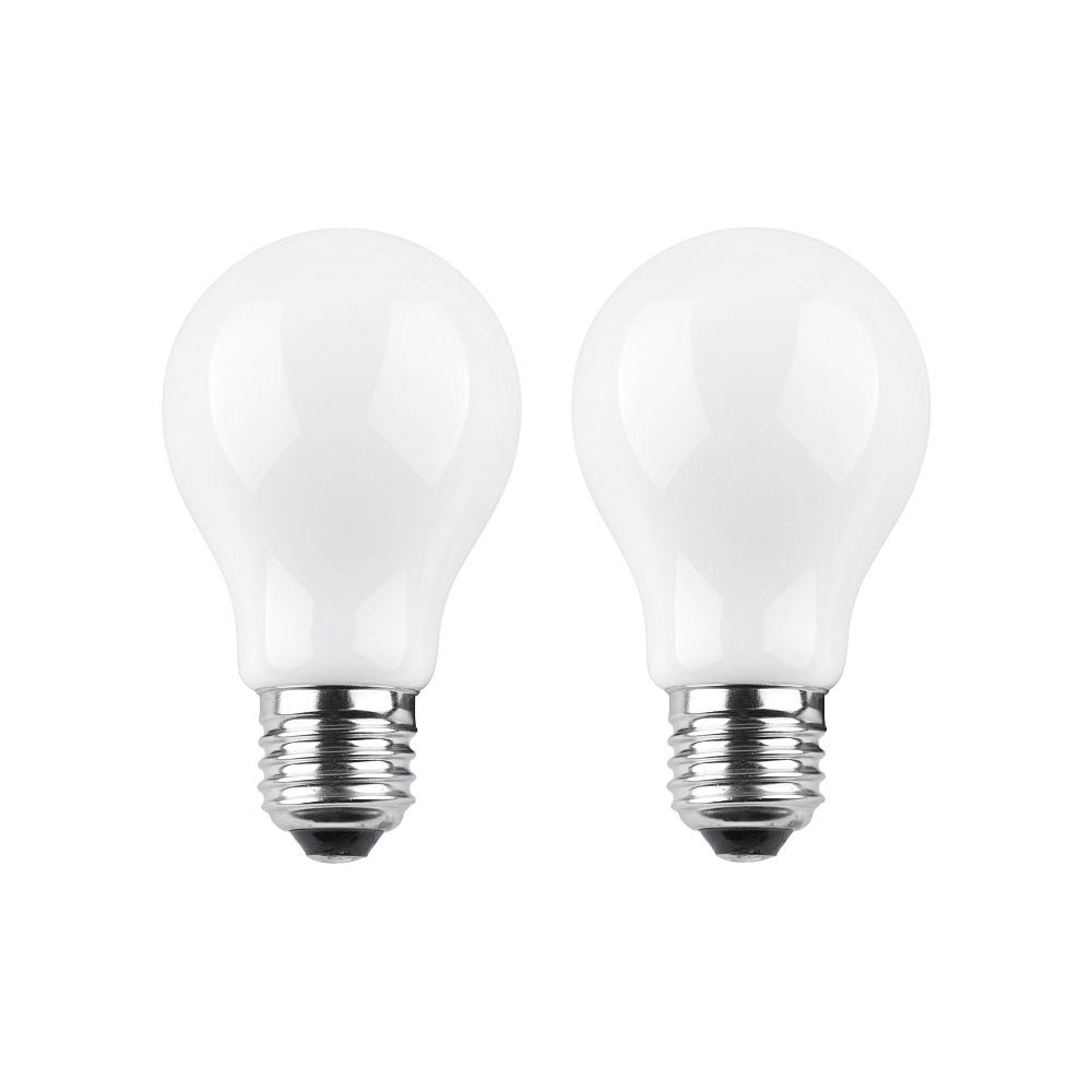 2-er Set A60  LED AGL 6W matt E27  2700K  230V  720Lumen
