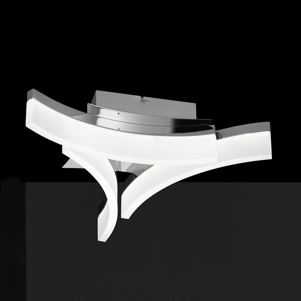 Fischer & Honsel GmbH 3-flg. LED-Deckenleuchte ...