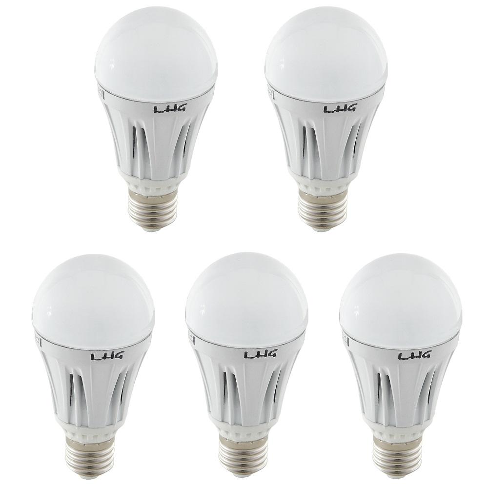 LHG 5er Set LED Leuchtmittel 12Watt  E27 806 Lumen