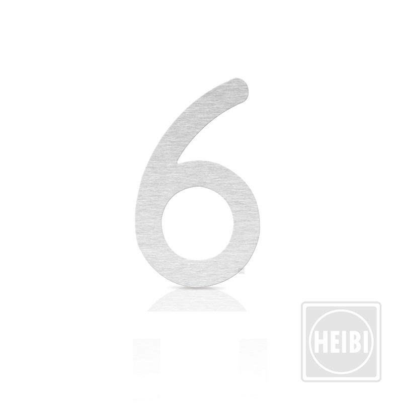 Heibi Hausnummer in XXL Höhe 30cm, Nummer 6 Hausnummer 6 64246-072 | Lampen > Aussenlampen > Hausnummern | Heibi