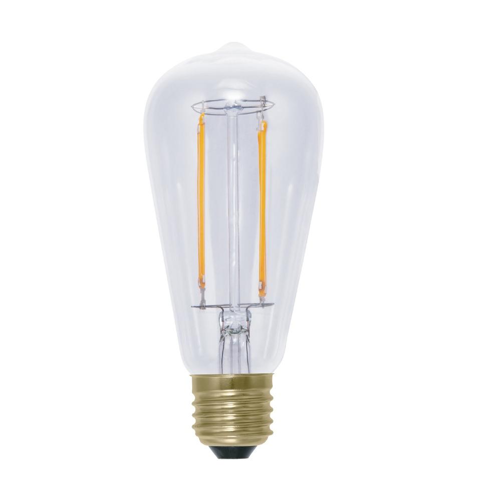A65 Rustika LED 6 Watt, E27, Fadenleuchtmittel, 2200K, klar