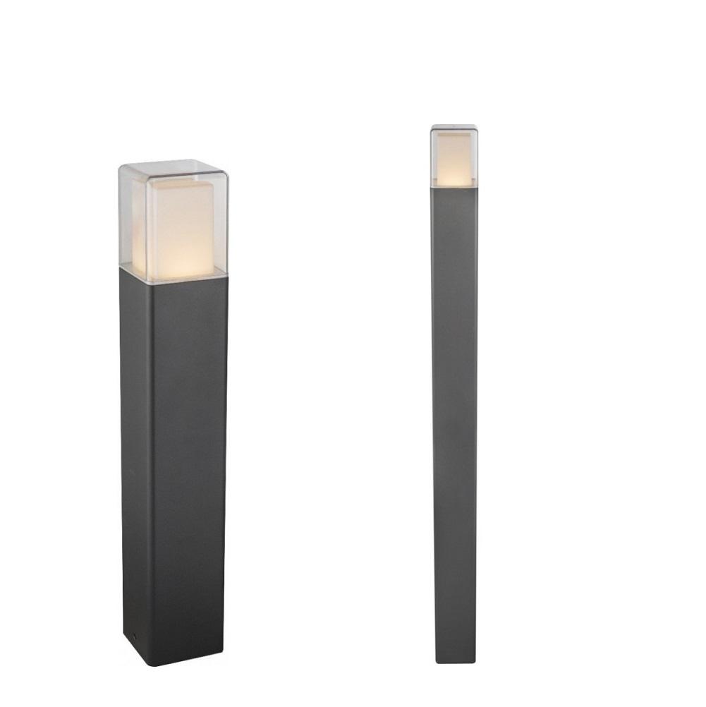 Alu-Druckguss LED Wegeleuchte Dalia, schwarz