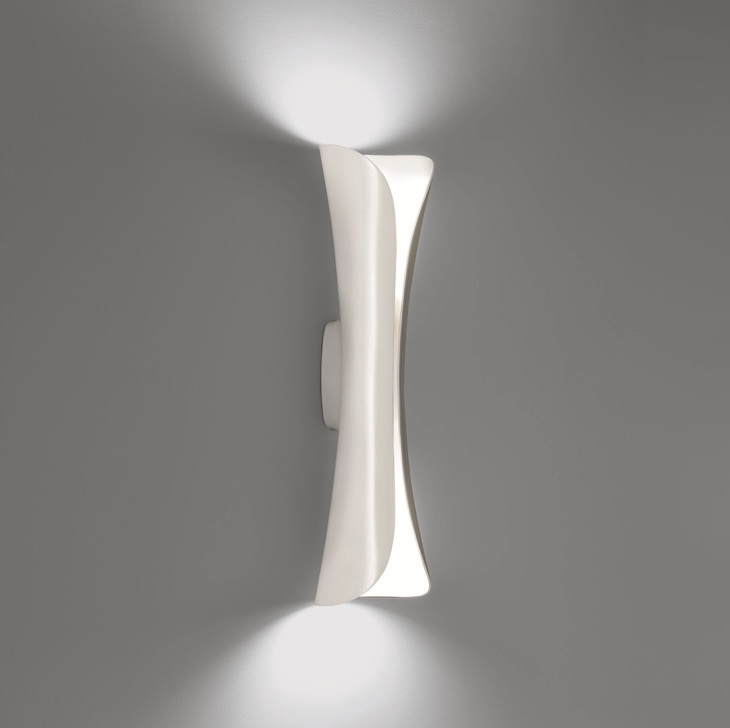 Artemide Cadmo parete in Weiß, LED