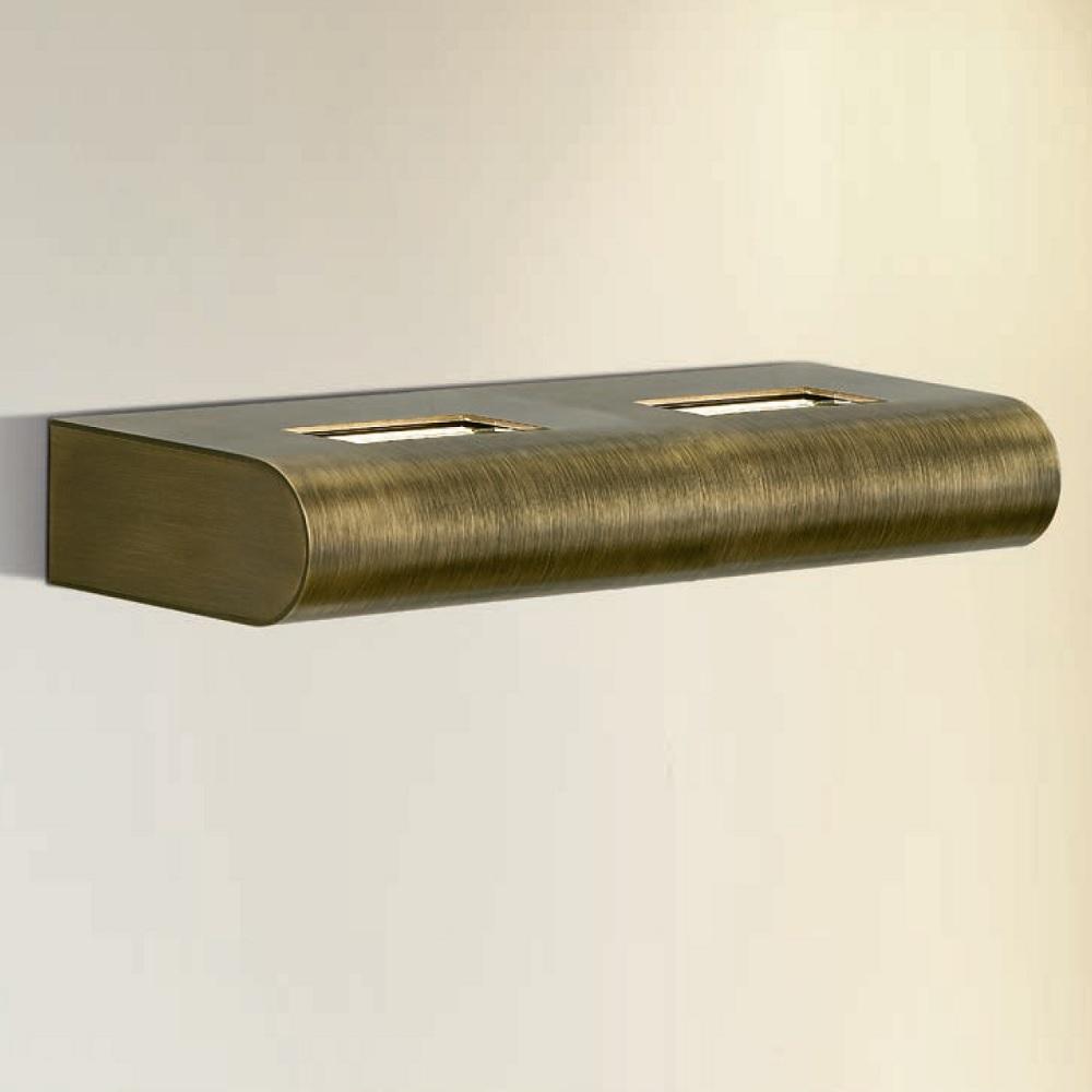 Attraktive LED-Wandleuchte - 3 Oberflächen - LED 2 x 10 Watt