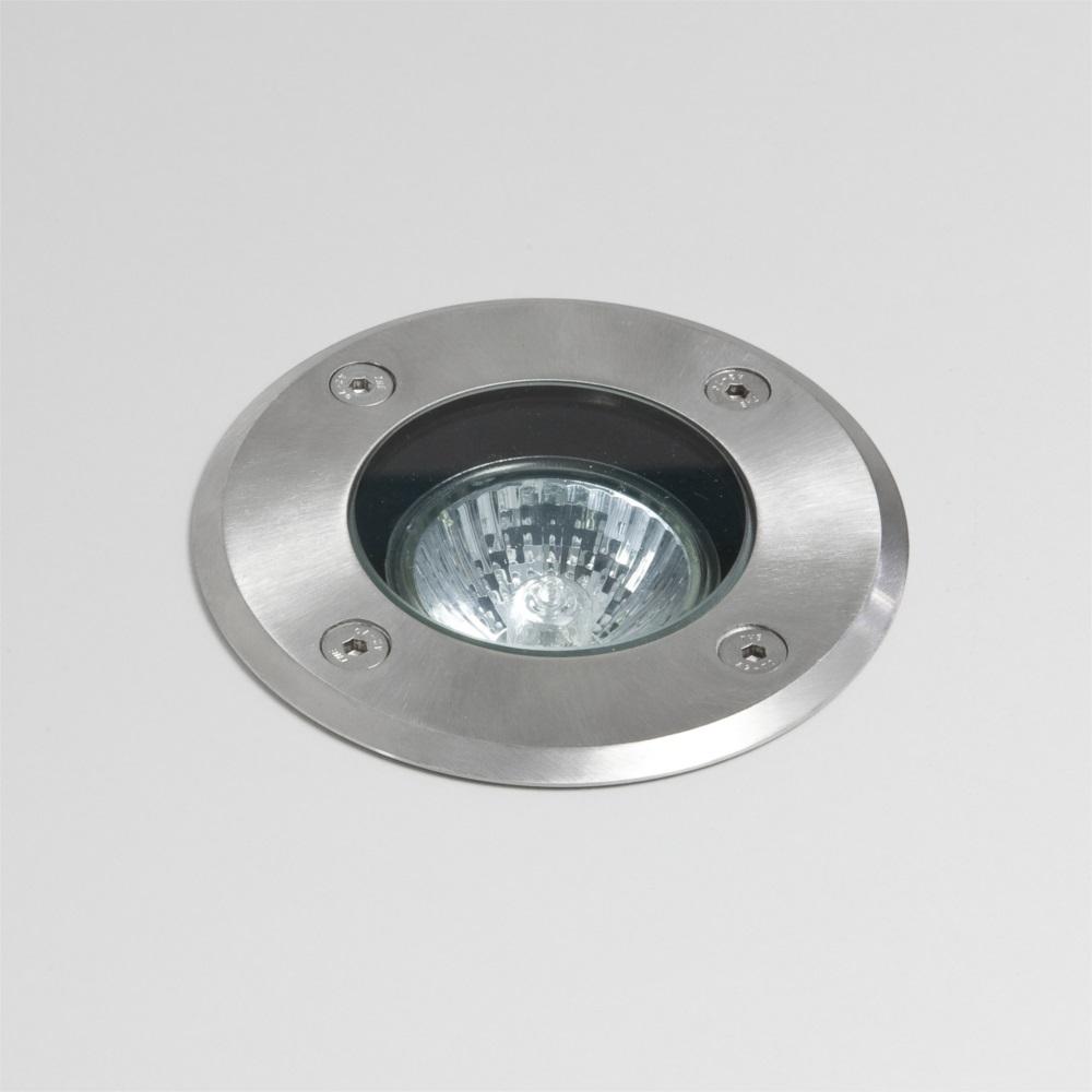 LHG Außenbodenleuchte rund Ø10,5cm - IP65 - Edelstahl
