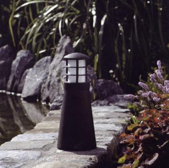 Bel Lighting Aussen Poller- und Sockelleuchte schwarz 811.G9.02 | Lampen > Aussenlampen > Sockelleuchten | Schwarz | Lackiert - Messing | Bel Lighting