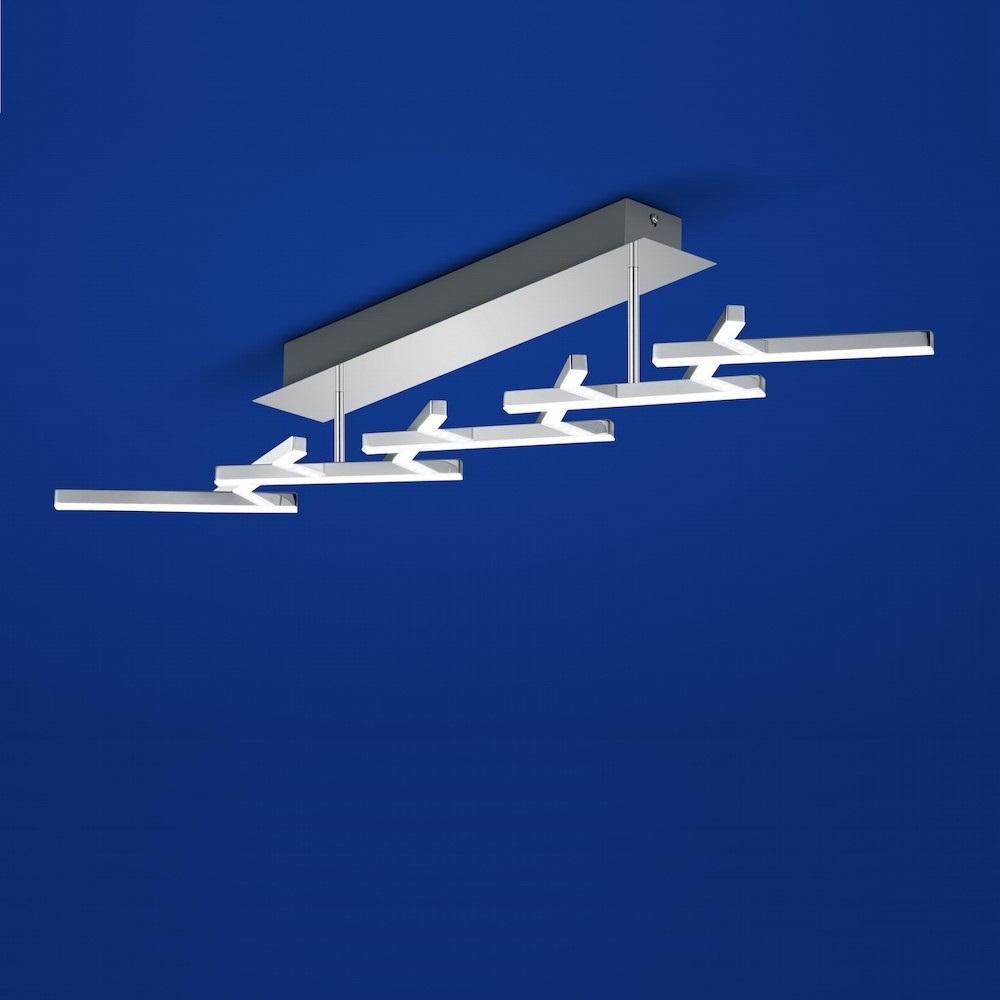 B-Leuchten LED-Deckenleuchte Cross dimmbar