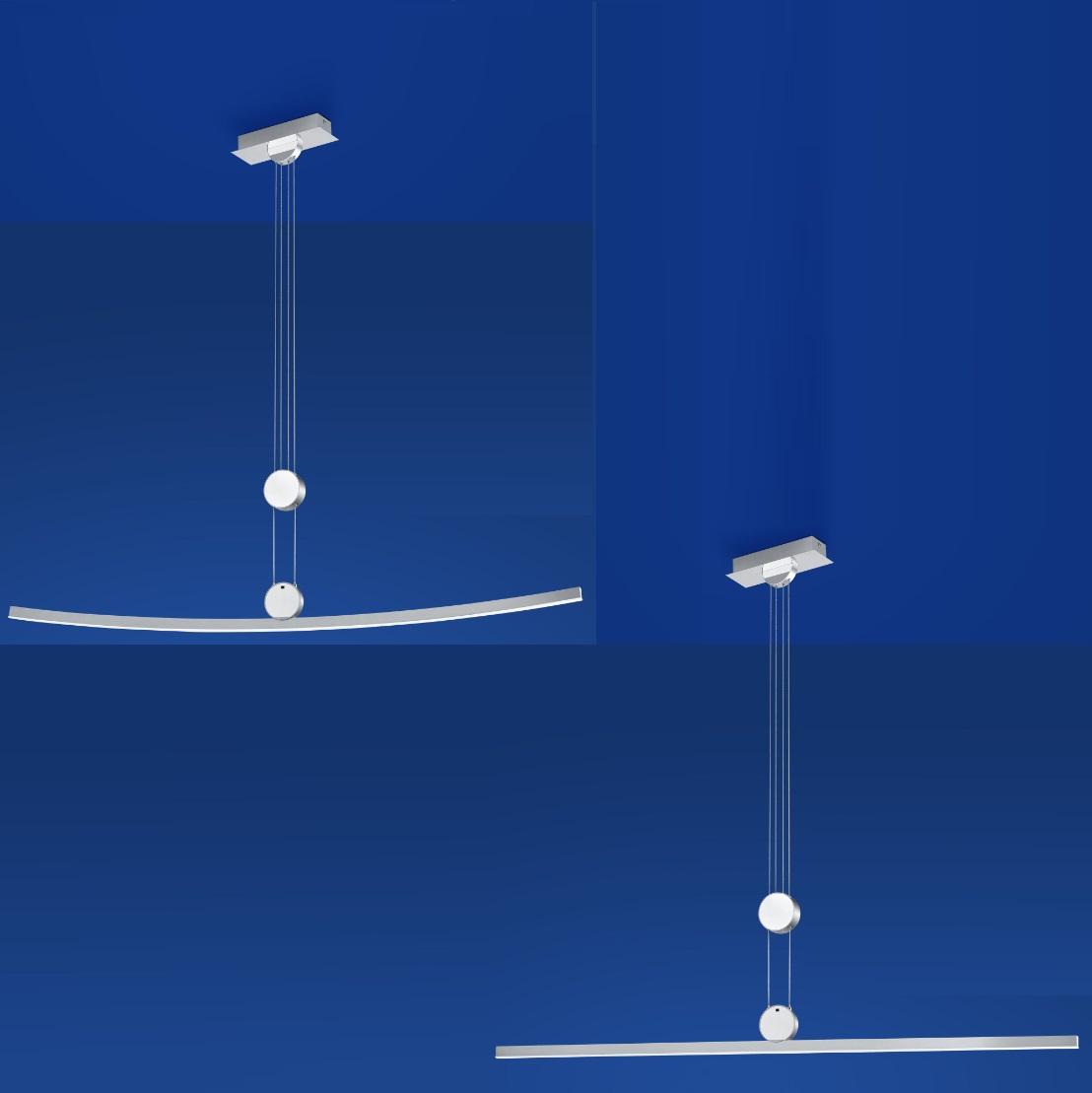 B-Leuchten LED-Pendelleuchte Move