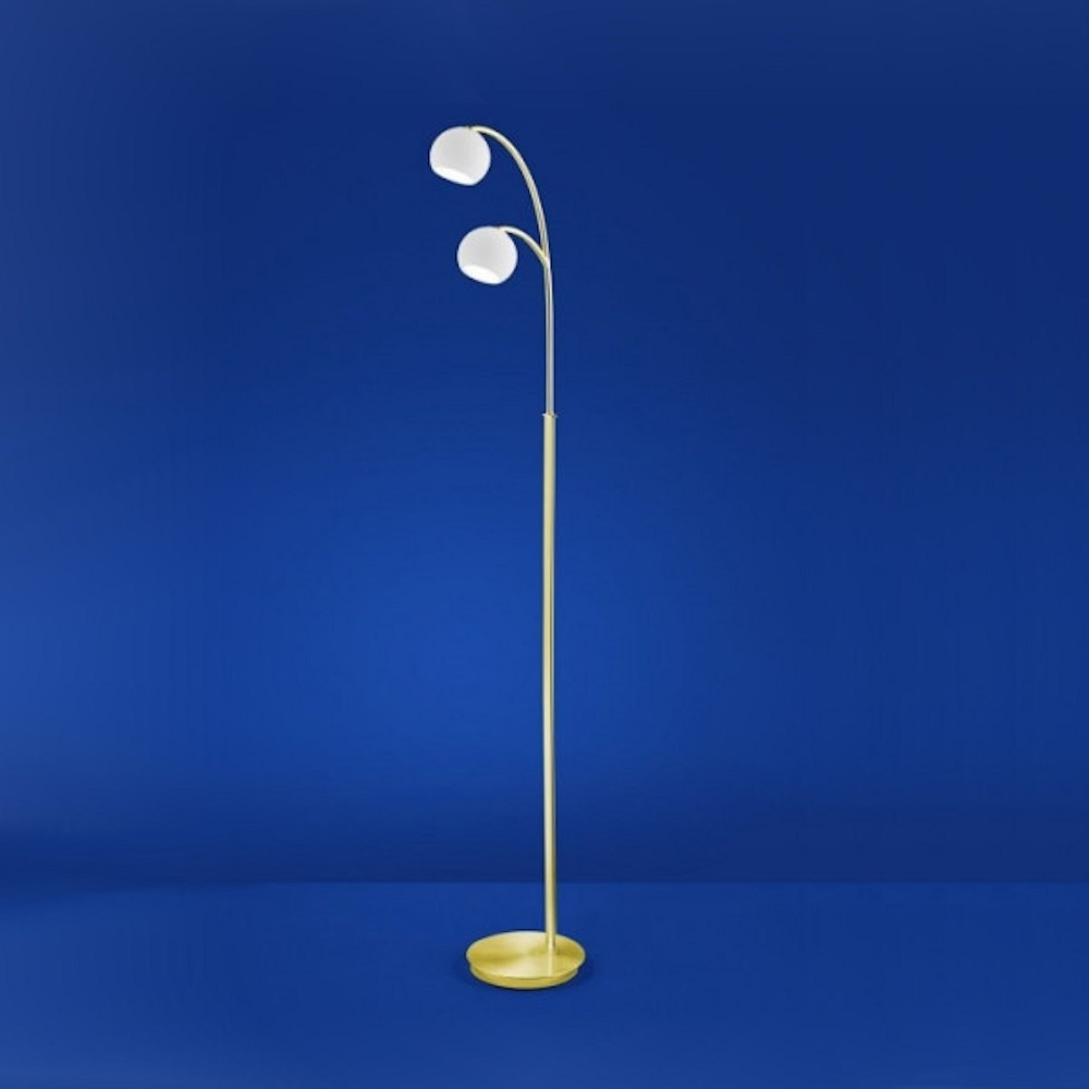 B-Leuchten LED-Stehleuchte Verona Messing matt / blank