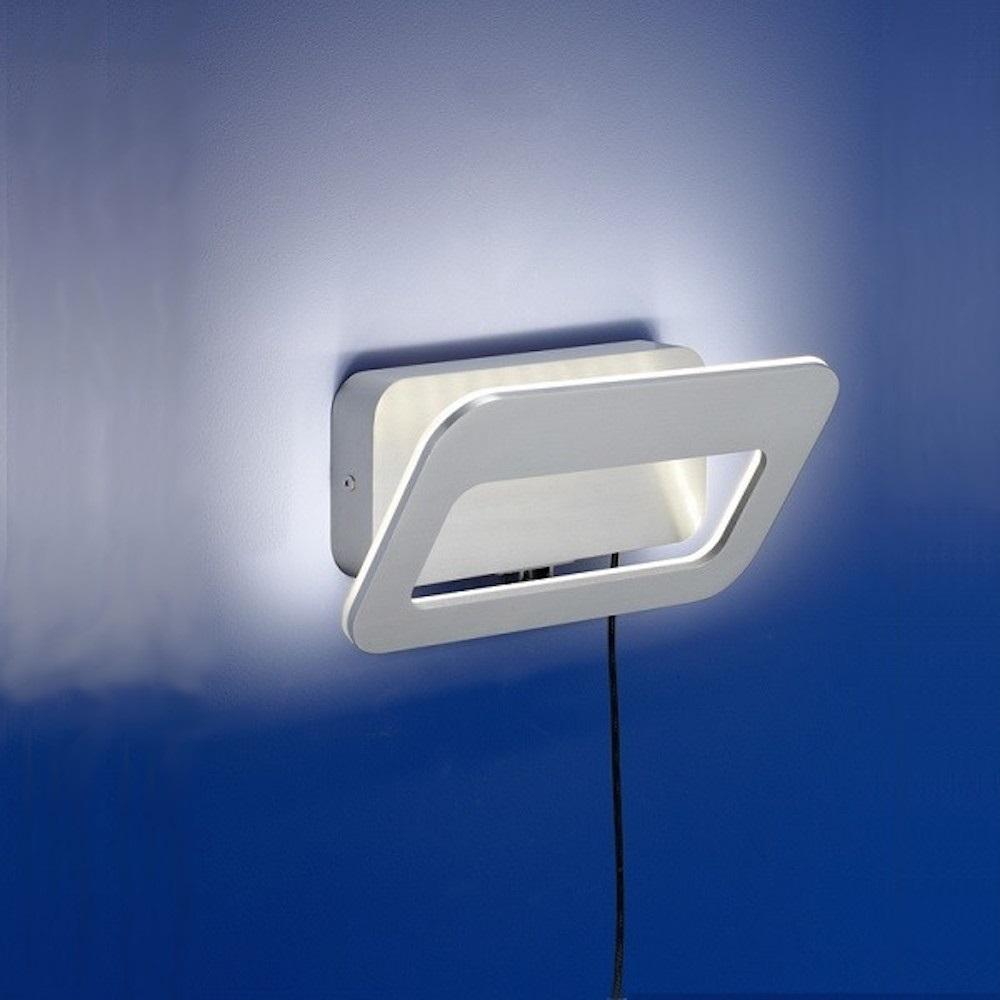 B-Leuchten LED-WandleuchteTrocadero Alu