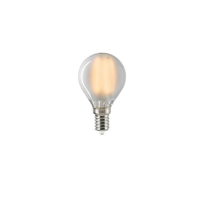 D45 AGL LED Tropfen Filamentlampe E14 dimmbar - 4,5W