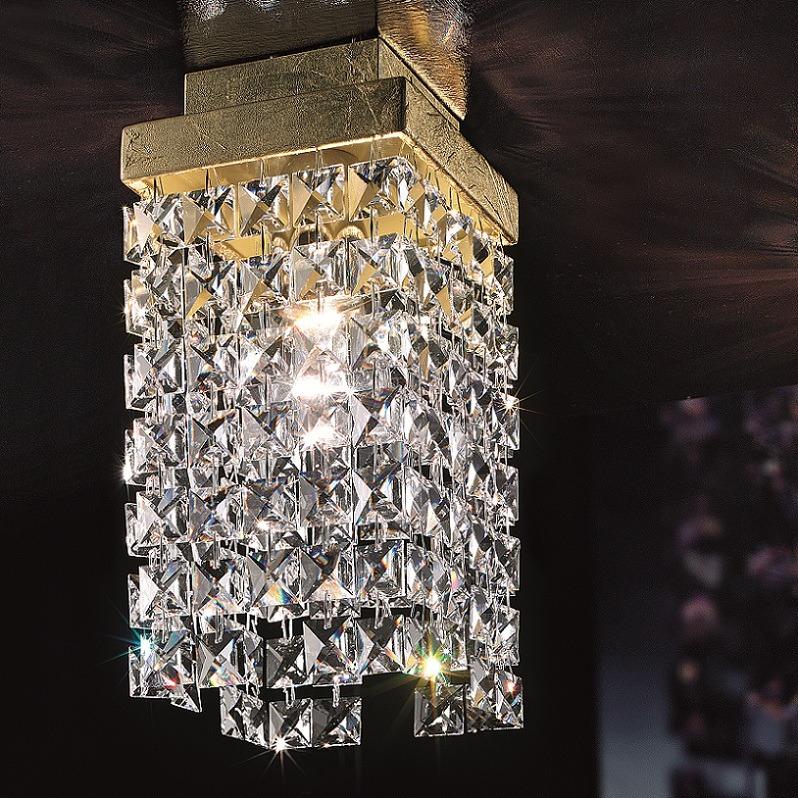BRAGA Illuminazione Deckenleuchte in Blattgold ...