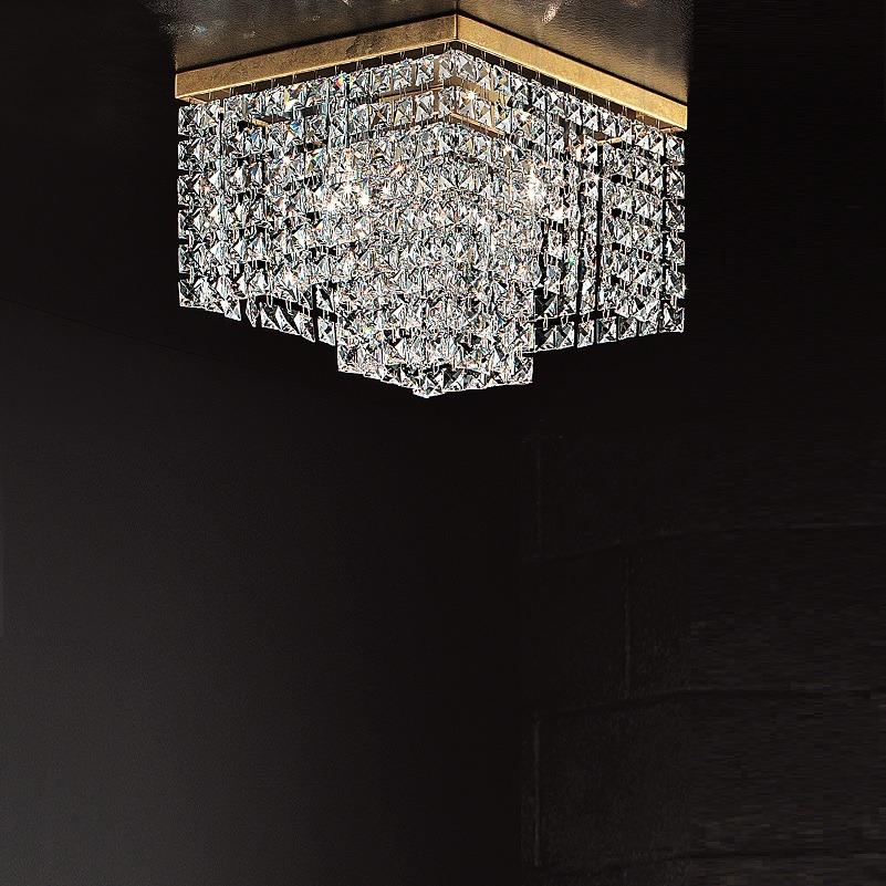 BRAGA Illuminazione Deckenleuchte mit Kristallb...