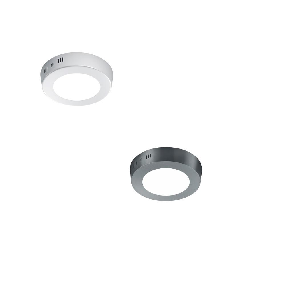 Deckenleuchte Cento Ø 12cm -  Nickel matt  oder Weiß