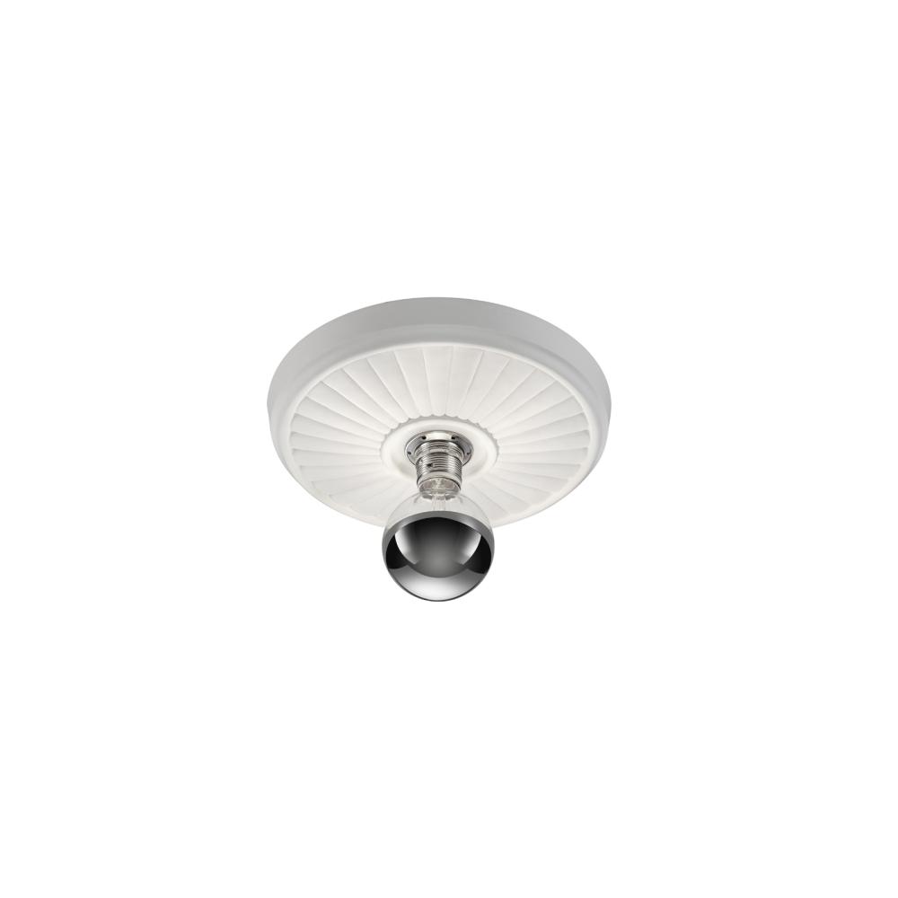 Deckenleuchte, rund , Gips, weiß, für LED Leuchtmittel E27, D=55,5cm
