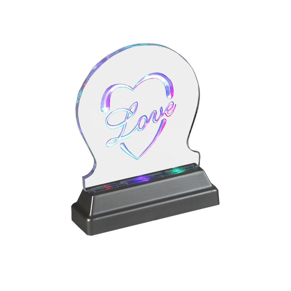 Esto Dekorative LED Leuchte aus Acryl - LED Mul...