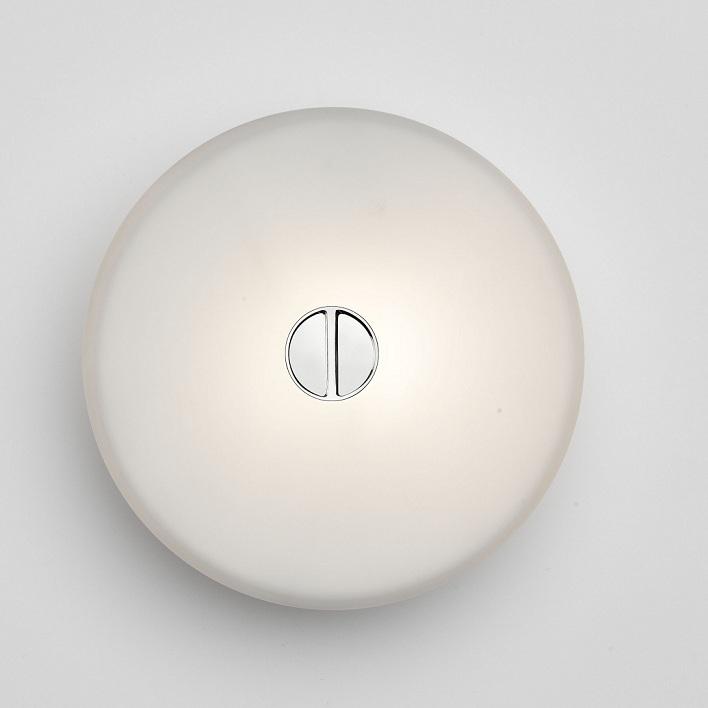 FLOS Design-Leuchte Mini Button von Flos, Abdec...
