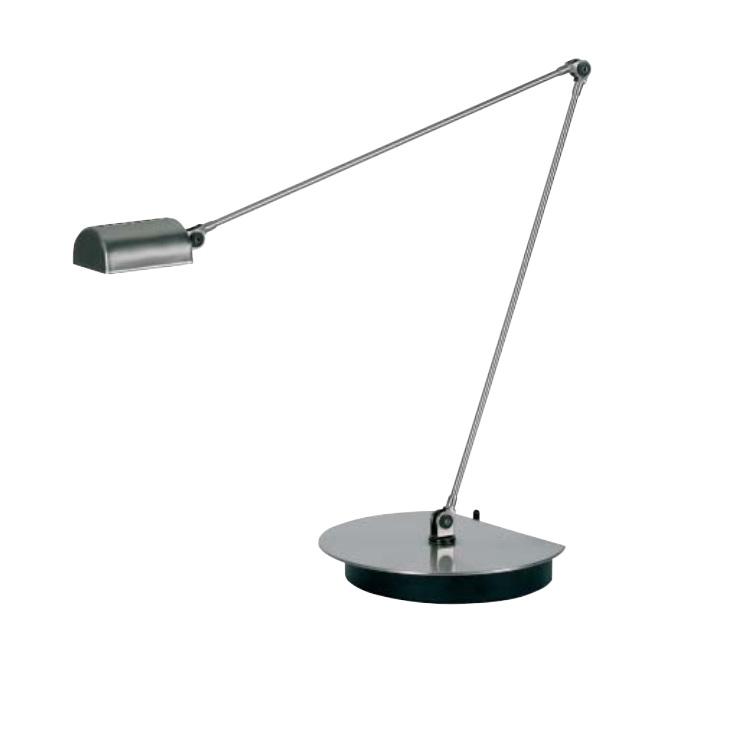 Design-Tischleuchte Cloe vernickelt von Lumina