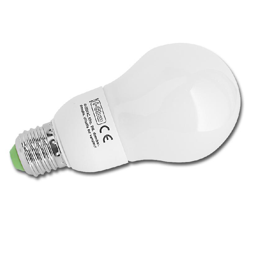 LHG Dimmbare Energiesparlampe ESL A60 E27 15W Leuchtmittel 1x 15 Watt, 15 Watt, 800,0 Lumen, 140,00 mm 8022 | Lampen > Leuchtmittel > Energiesparlampen | LHG