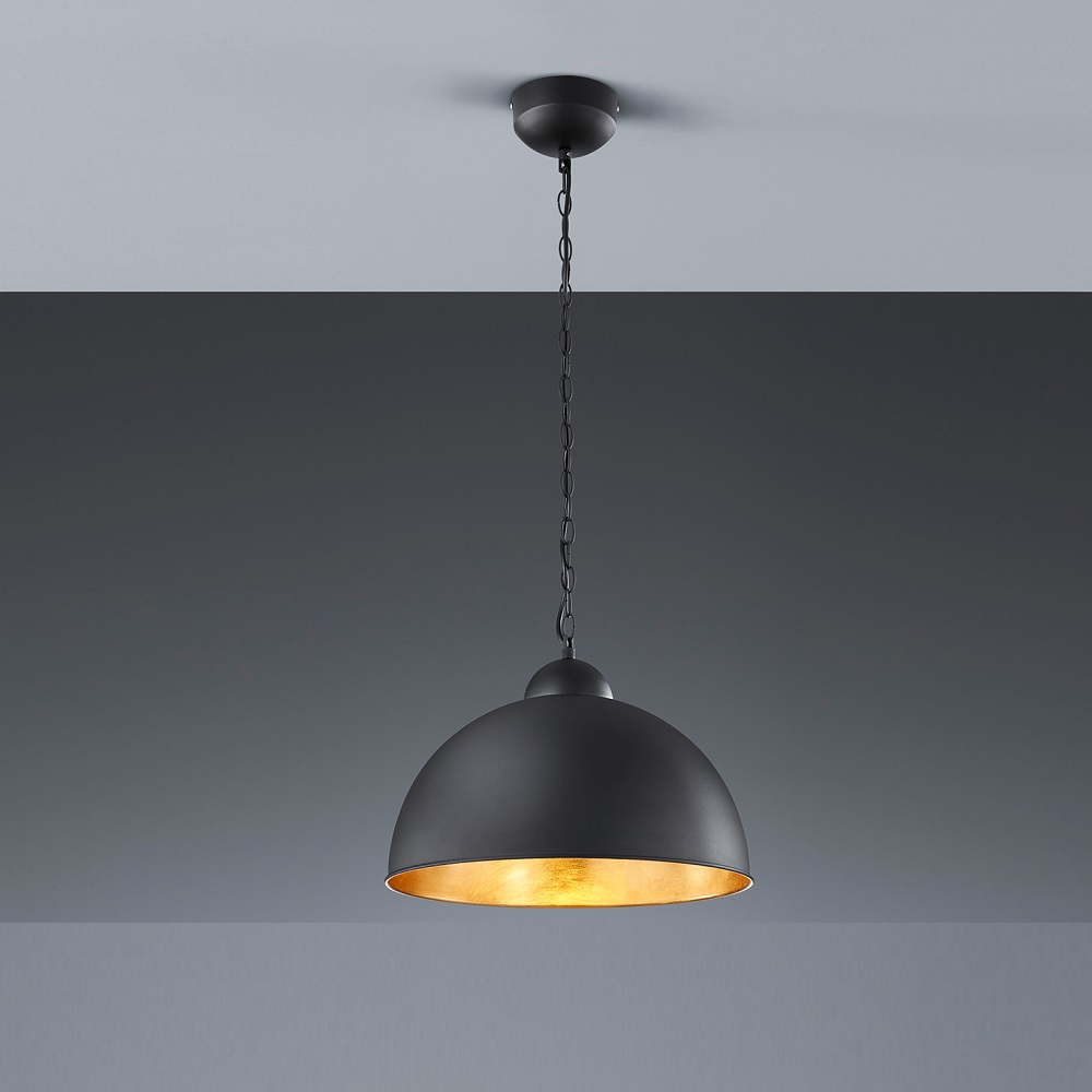 Trio Dimmbare LED-Pendelleuchte Romino rund 40 ...