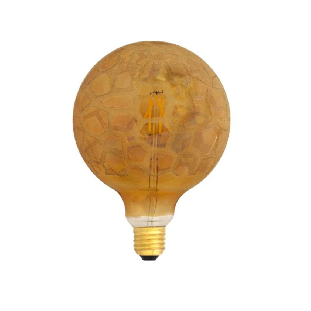 G125 LED Globe Krokoeis-gold