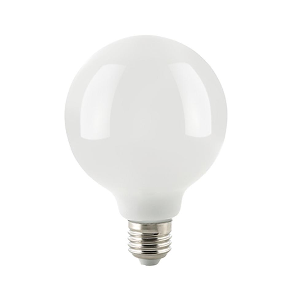 G125 LED Globelampe 125 mm E27 opal 12 Watt