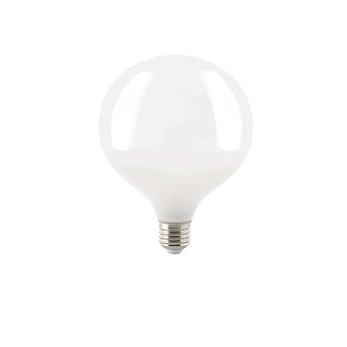 G125 LED Globelampe 125 mm E27 opal, 6,5 oder 8 Watt