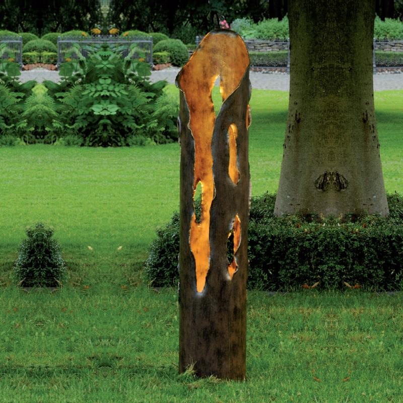 Robers Leuchten Gartenleuchte Aus Schmiedeeisen Handgefertigt Hohe 130cm Al6706