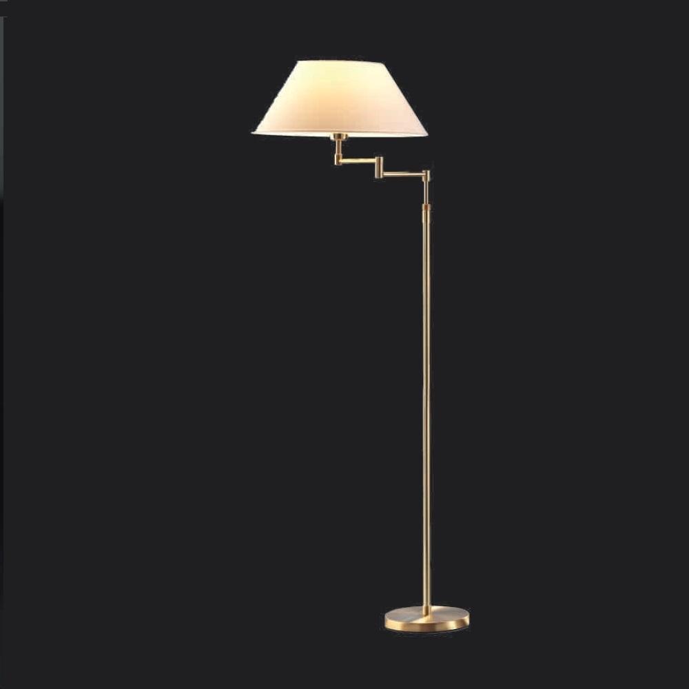 Blickfang Stehlampe Mit Schirm Das Beste Von Lupia Licht Verstellbare Stehleuchte Bronze-antik, Konisch Champagner