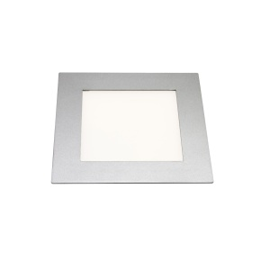 Heitronic High-Tech LED-Lichtpanel in Silber mi...
