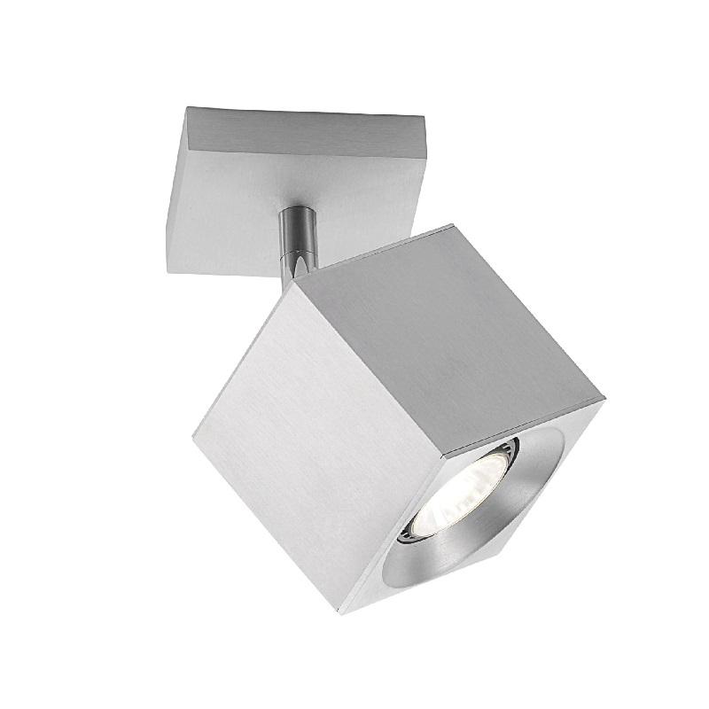 Hufnagel 1-flammiger Deckenstrahler aus Aluminium