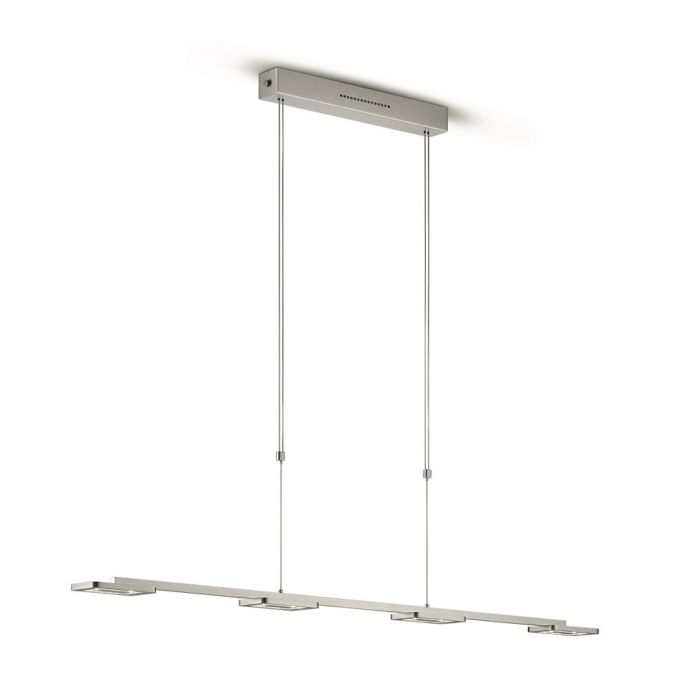 Knapstein LED-Pendelleuchte 4x7W, höhenverstellbar