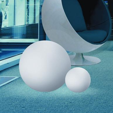 Linea Light Kugelleuchte aus Polyethylen - bruch-beständig, Ø 28cm - Innenbereich Oh 10100 | Lampen > Tischleuchten > Kugelleuchten | Polyethylen | Linea Light